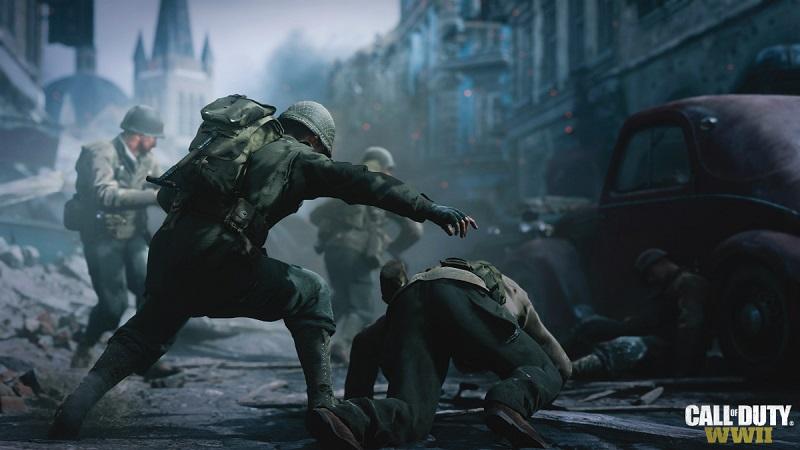 صحنه های عمیق عاطفی در بخش داستانی COD WW2
